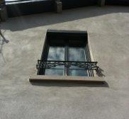 Installation fenêtres en aluminium noir