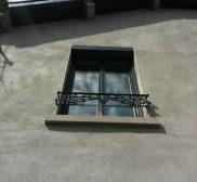 Réalisation fenêtre aluminium noir