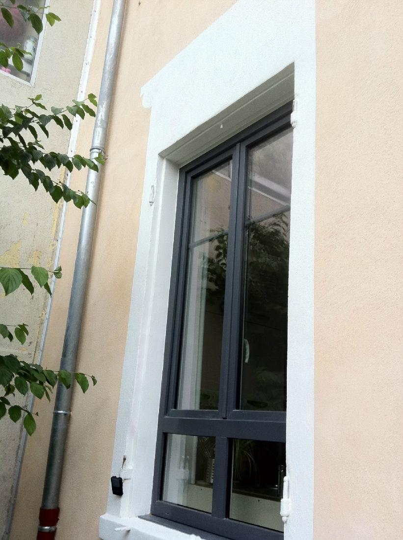Réalisation fenêtre en aluminium