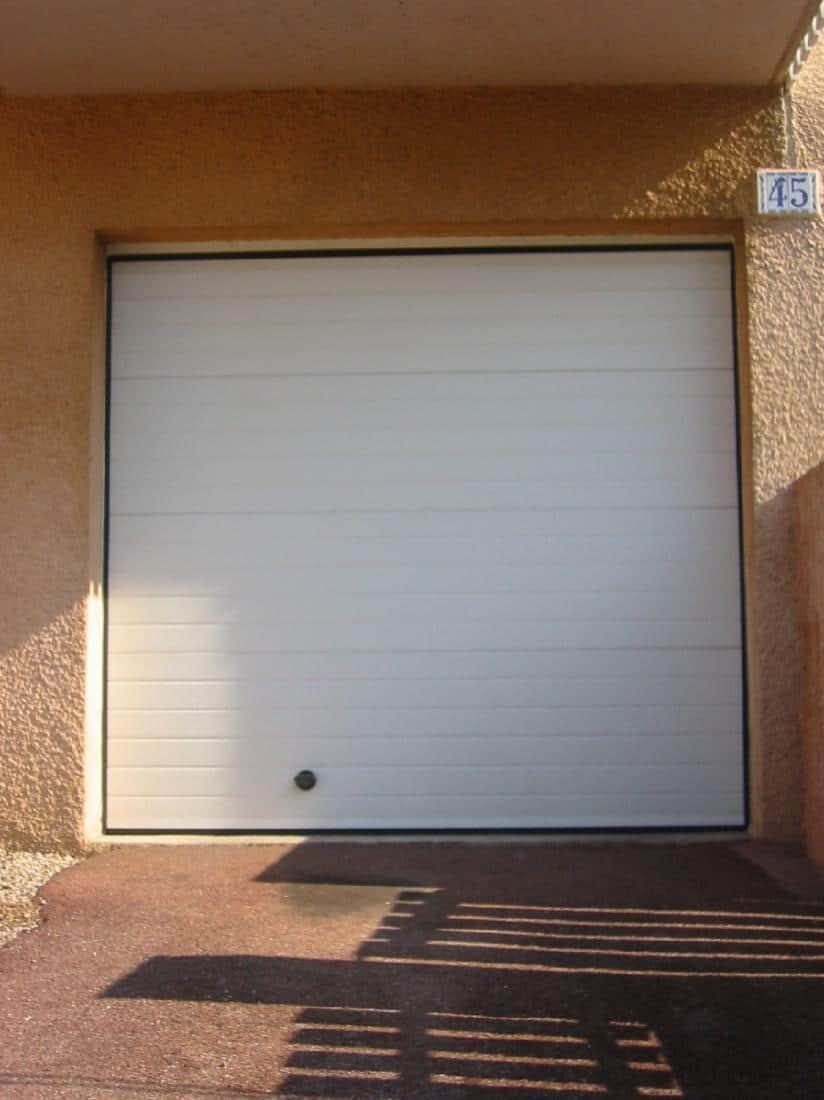 Réalisation isolation confort porte de garage