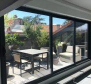 Baie vitrée aluminium - Isolation Confort