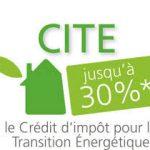 Crédit d'impôt pour la transition énergétique.
