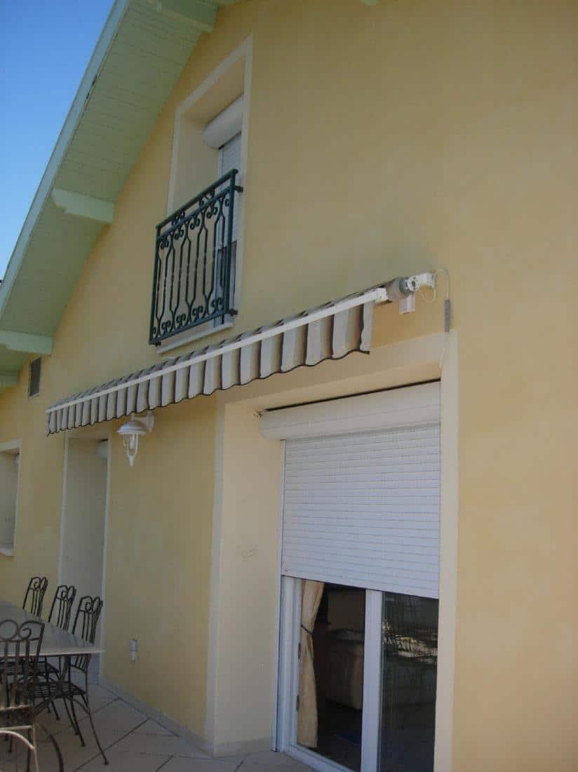 Réalisation fenêtres et portes fenêtres PVC et volets roulants