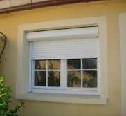 Réalisations volets roulants et double fenêtres en PVC