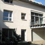Réalisation globale avec fenêtres PVC, porte fenêtre PVC, baie coulissante PVC et portes de garage