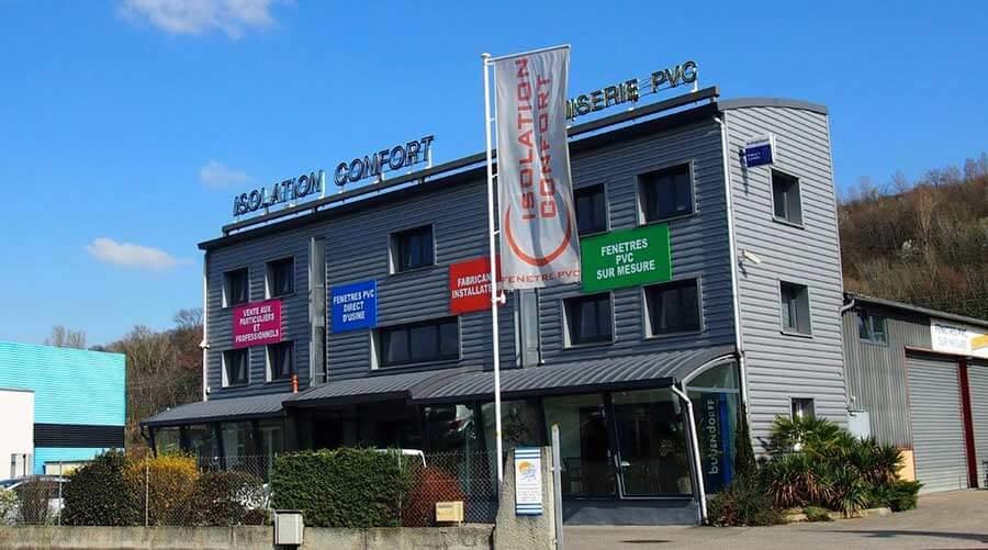 Isolation Confort - Fabricant de menuiseries aluminium et PVC à Solaize (69- Rhône)