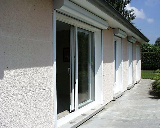 Réalisations baies coulissantes et portes fenêtres en PVC